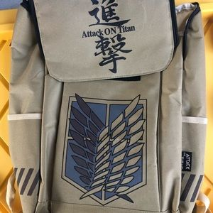 Attack On Titan backpack for sale